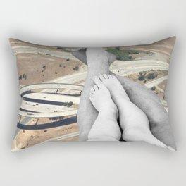 Up in the air Rectangular Pillow