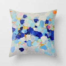 Amoebic Party No. 2 Throw Pillow