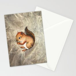 Sciurus (Baby Squirrel) Stationery Cards