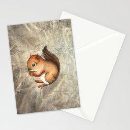Sciurus (Baby Squirrel) Stationery Cards