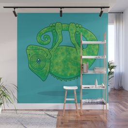 Magical Chameleon Wall Mural