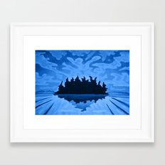 Isle of the Spirits  Framed Art Print