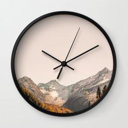 Mountain 7 Wall Clock