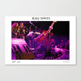 Birds in the Boneyard, Print Two: Mikey Shreds Canvas Print