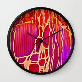 Gold Vein Wall Clock
