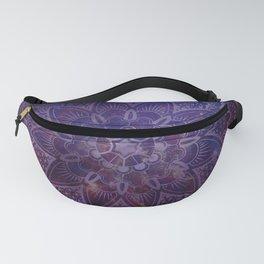 Ultraviolet Mandala Fanny Pack
