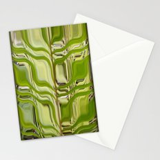 Abstract Germination Stationery Cards