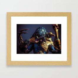 """NIGHTSTORM PREDATOR"" Framed Art Print"