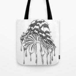 InkCap mushroom Tote Bag