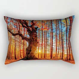 Majestic woods Rectangular Pillow