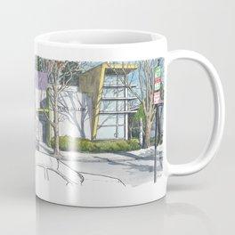 D Street Davis panorama Coffee Mug