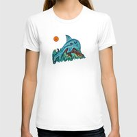 dolphin T-shirts featuring Dolphin by gretzky