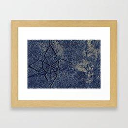 Stone Carving Framed Art Print