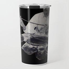 black Argyre Travel Mug
