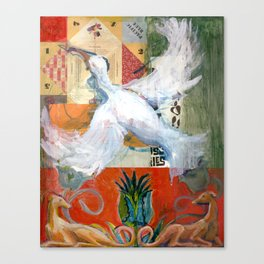 Return of the Ibis Canvas Print