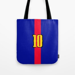 football team 1 number ten Tote Bag