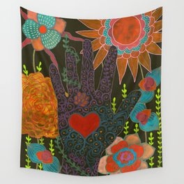 To Have Your Heart In My Hand Wall Tapestry