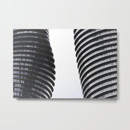 Monroe Towers Metal Print