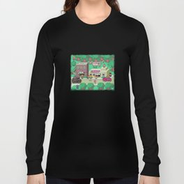 Earthbound town Long Sleeve T-shirt