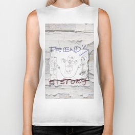 Enjoy Friends Biker Tank