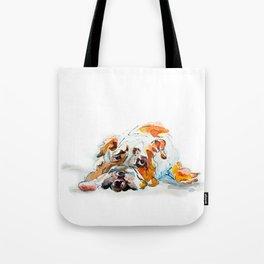Swiss Bob Tote Bag