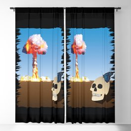 Fukushima Butterfly Blackout Curtain