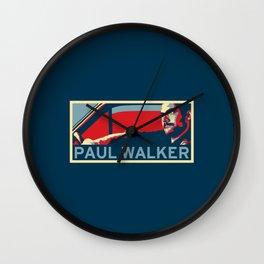 Paul Walker Wall Clock