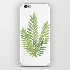 Plant 1 iPhone & iPod Skin