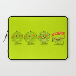 Lime emotions  Laptop Sleeve