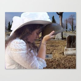 Gilded Memorial Canvas Print
