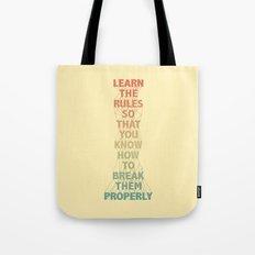 Life Lesson #5 Tote Bag
