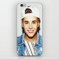 custom iPhone & iPod Skins featuring custom by Jessica