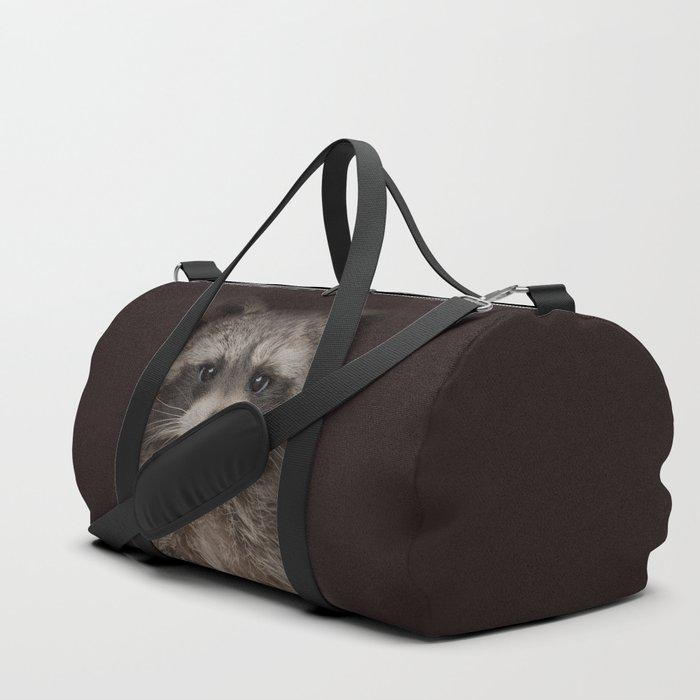Raccoon Duffle Bag