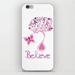 Breast Cancer Survivor iPhone Skin