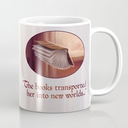 Little Bookworm Coffee Mug