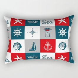 Nautical design Rectangular Pillow