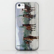 Bahía de los Ángeles Wild Horses Slim Case iPhone 5c