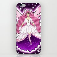 madoka iPhone & iPod Skins featuring Ultimate Madoka by vandalaire