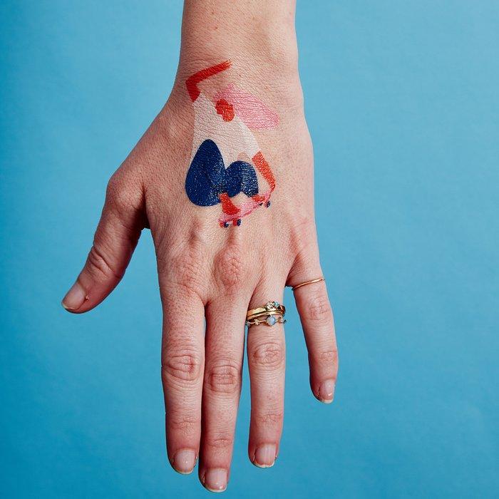 Skater Girl Temporary Tattoos by Tasiania x Tattly