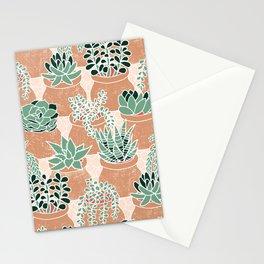 Succulent's Tiny Pots Stationery Cards