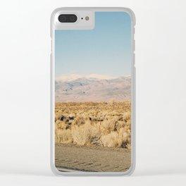 ROAD TRIP V / California Clear iPhone Case