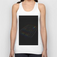 gaming Tank Tops featuring SNES Gaming by Gudrun Galdean