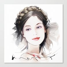 Girls portrait Canvas Print