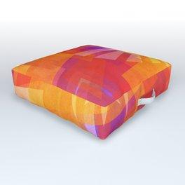 Triforce Orange Mix Outdoor Floor Cushion