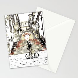 Art Stairs Stationery Cards
