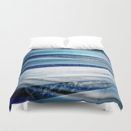 Blue Steel Duvet Cover