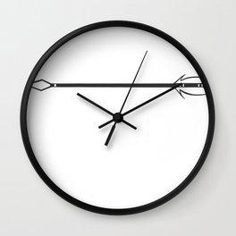 Arrow [Black and White Wall Clock
