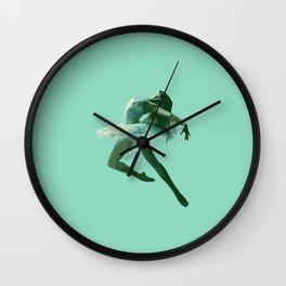 Dancing Woman  Wall Clock