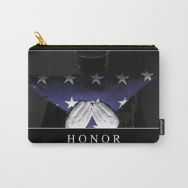 Honor: Inspirational Quote and Motivational Poster Carry-All Pouch