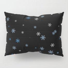 Snowy Blues   Veronica Nagorny Pillow Sham